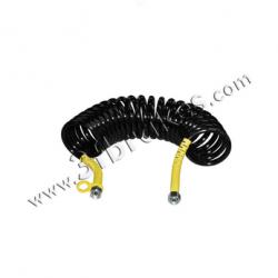 Трубка пневматична пружина жовта