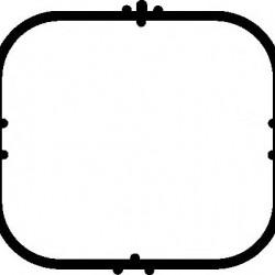 Прокладка впускного колектора Mercedes ELRING 489.870