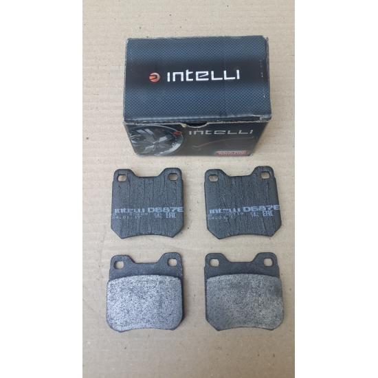 Дискові гальмівні колодки (CHEVROLET, OPEL) INTELLI D687E