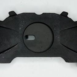 """Пластина гальмівної накладки (з прорізом) права WABCO 17.5""""/ 3F 100 10242, 3F10010242"""