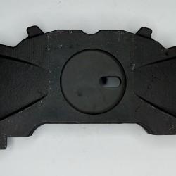 """Пластина гальмівної накладки (з прорізом) ліва WABCO 17.5""""/ 3F 100 10252, 3F10010252"""