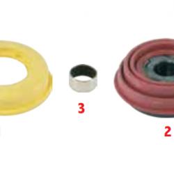 Р/к штовхача з гофрованим пильником (з буртом) KNORR SN 6/ SN7/ SB7/SB7/ SK7/ 3F 200 20104, 3F20020104