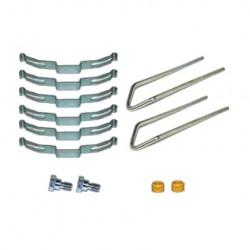 Монтажний комплект гальмівних колодок супорта WABCO 17.5 3F 100 10412, 3F10010412